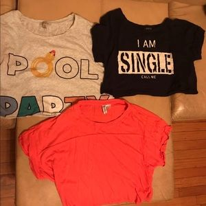 Crop top bundle (small/medium)
